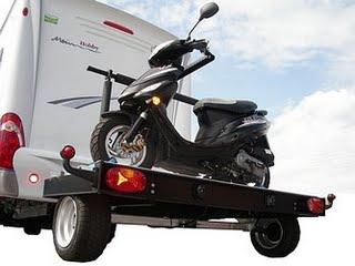 Motorradplattform