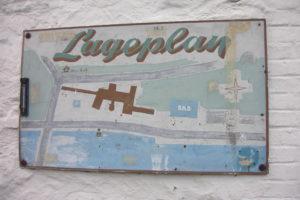 Ein alter Lageplan vom Campingplatz Diepental