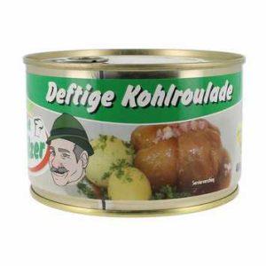 Kohlroulade Dose