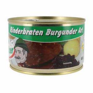 Rinderbraten Burgunder Art Dose